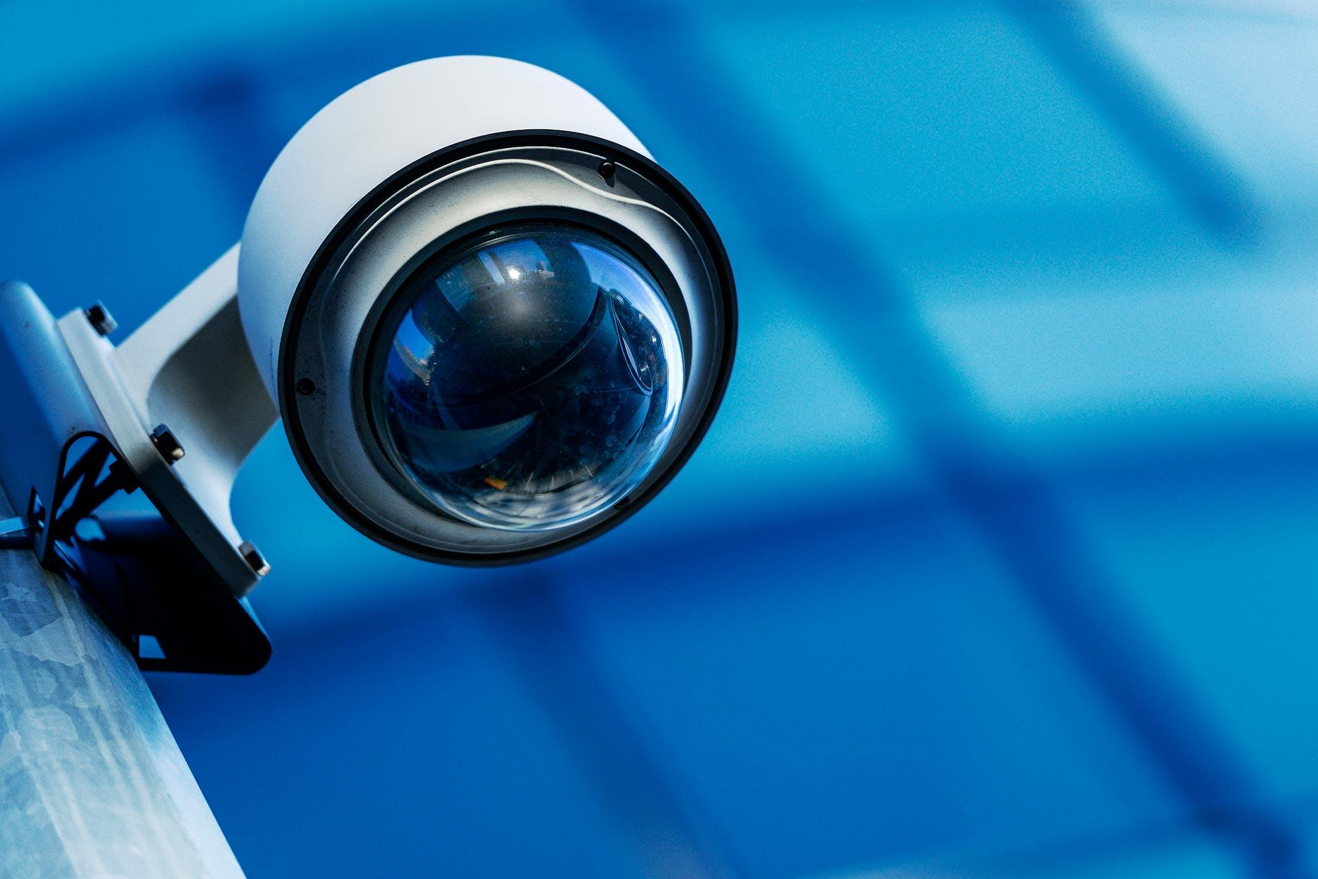 DM-IRCAM60 atrapa (maketa) vnitřní polokulovité kamery s LED